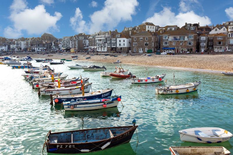 Boat Watching - Cornwall three