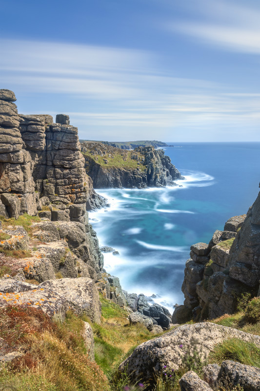 Weatherd Charm - Cornwall three