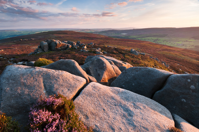 Summer evening at Simons Seat_ - Yorkshire Dales