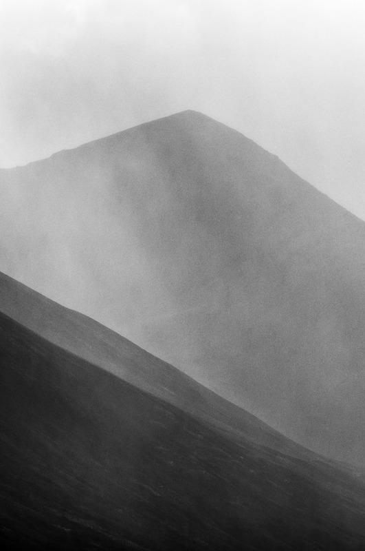 Belig Red Cuillin Isle of Skye - Black and White