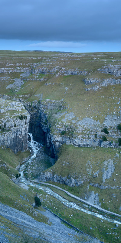 Gordale Scar after Desmond - Latest Work
