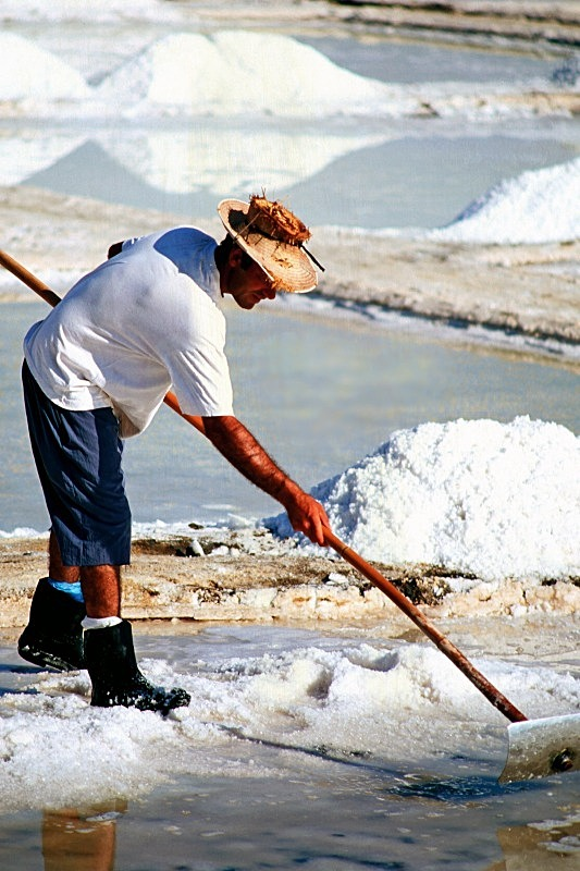 Salt Pan Labourer - Countryside