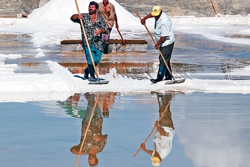 Faro Salt Pan - Countryside