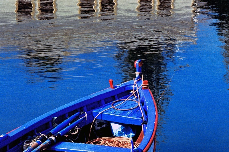 Study in Blue - Boats