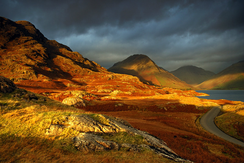 Wasdale Evening - Rivers and Valleys