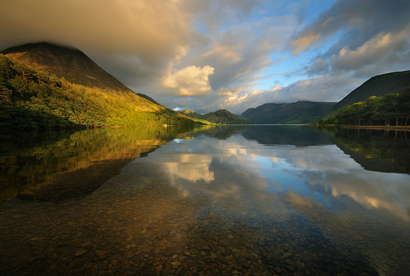 Crummock Water - Lakes, Tarns and Waters