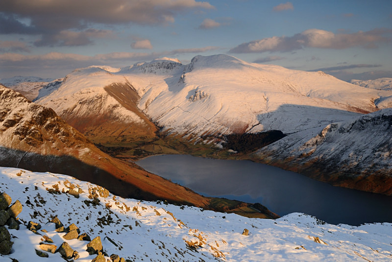 The Scafells - Mountains and Fells