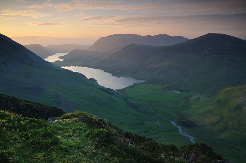 Buttermere - Rivers and Valleys