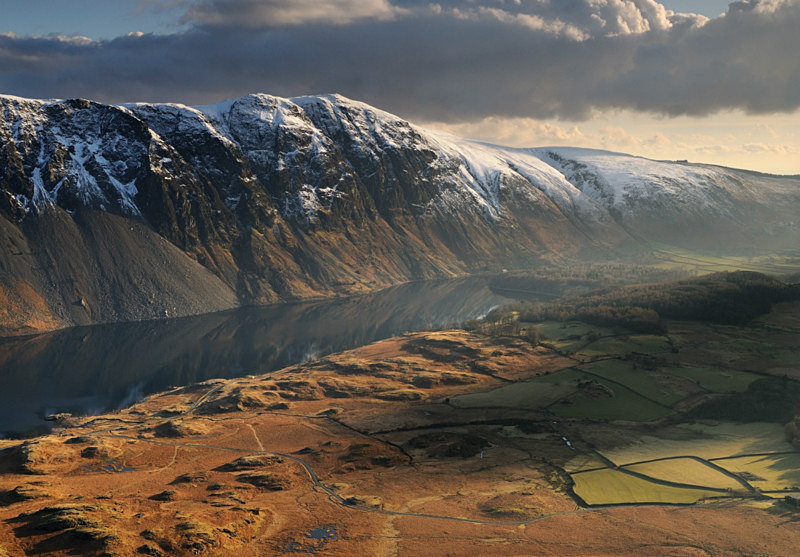 Shadowed Land - Mountains and Fells