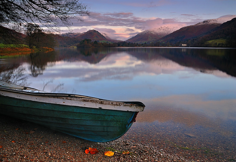 Sombre Stillness - Lakes, Tarns and Waters
