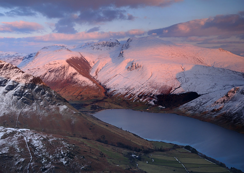 Serene Scafell - Mountains and Fells