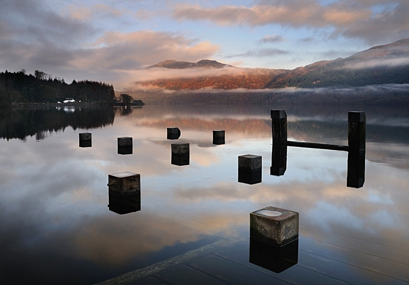 Stranded Shapes - Arrochar & Lomond