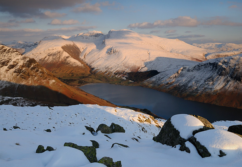 Snowbound Scafells II - Mountains and Fells
