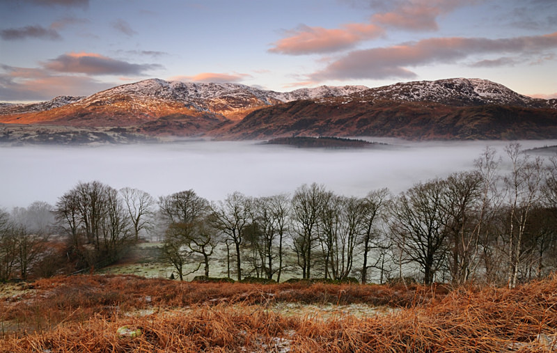 Land Layers - Mountains and Fells