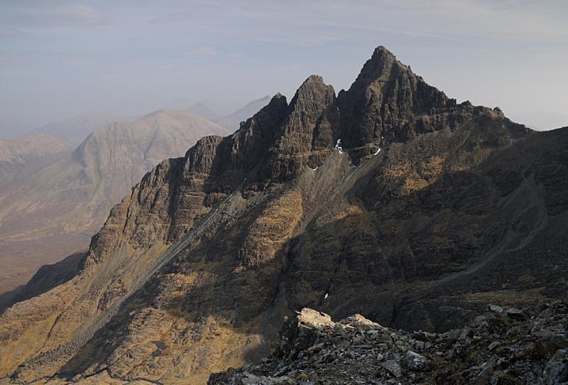 Gillean's Pinnacles - Skye