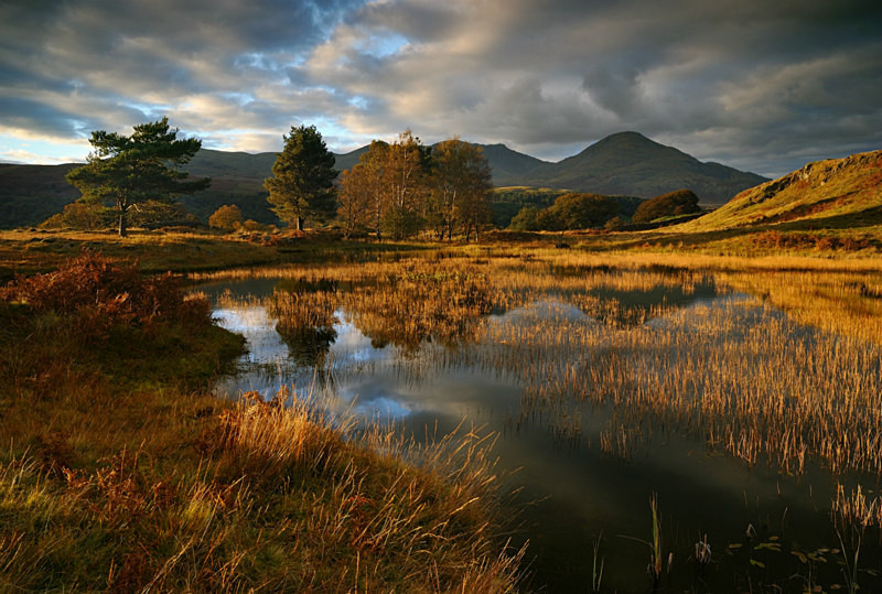 Autumn Arrives - Lakes, Tarns and Waters