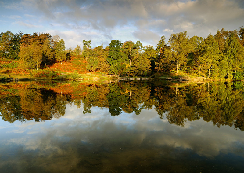Reflecting Autumn - Lakes, Tarns and Waters