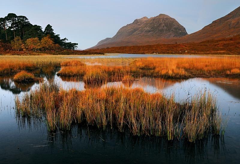 Liathach over Loch Clair - Torridon