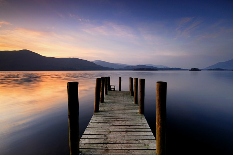 Derwent Jetty - Lakes, Tarns and Waters