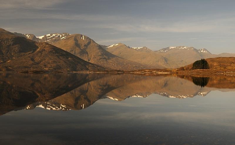 Loch Cluanie - Glen Shiel