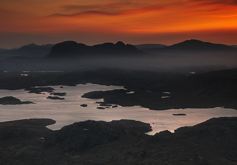 Red Dragon - Assynt & the North
