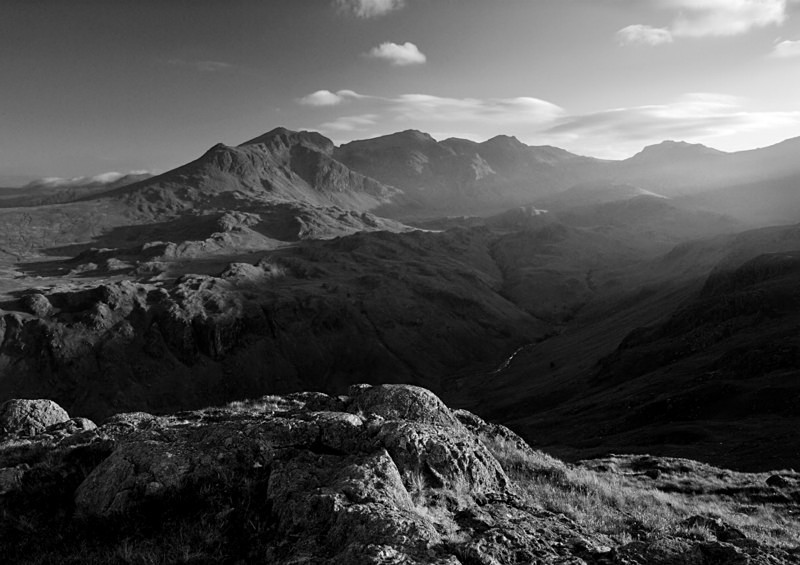 Valley Light - Mountains and Fells