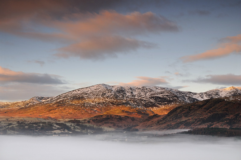 Coniston in the Clouds - Mountains and Fells