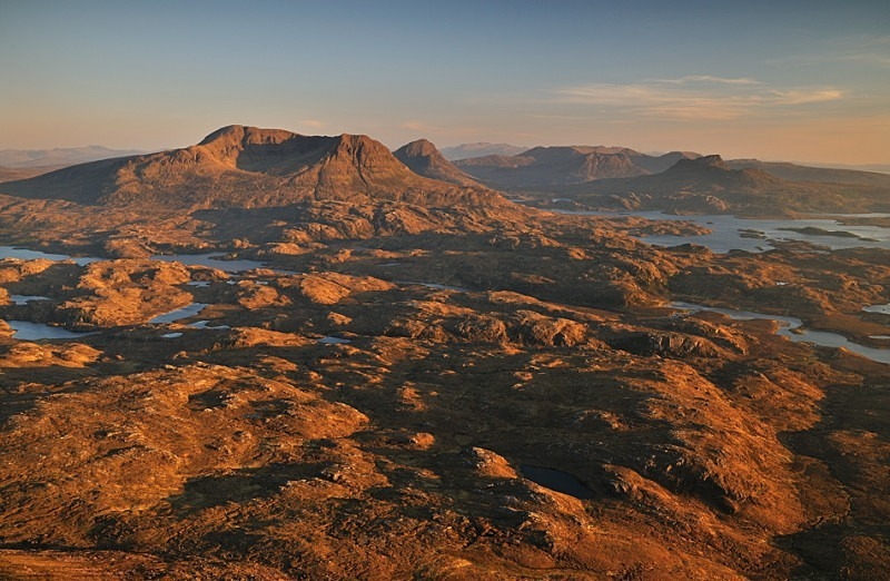 Over Assynt - Assynt & the North