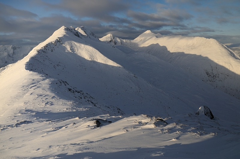 The Five Sisters of Kintail - Glen Shiel