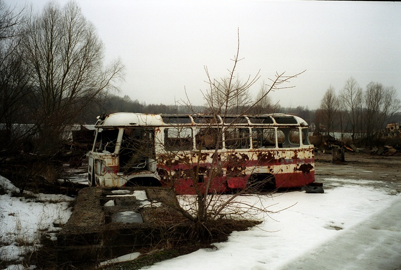 Chernobyl bus - Phil Coomes