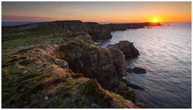 Sunset over Tory Island, Co Donegal - 12 Recent Images