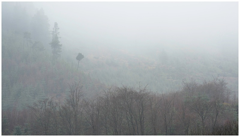 Glenmalure in the Mist, Co Wicklow - Leinster's Wild Landscape