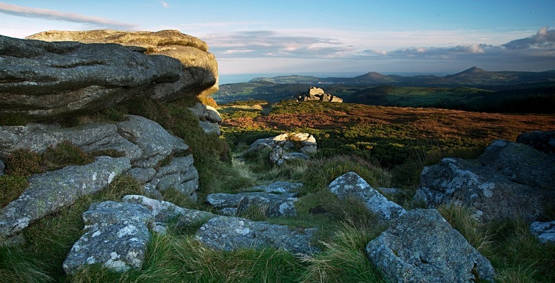 View to The Sugar Loaf, Two Rock Mountain, Co Dublin - Dublin's Wild Landscape
