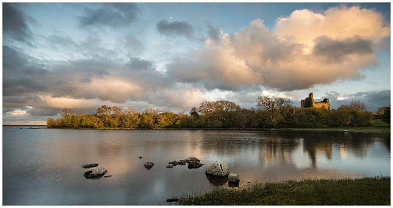 Rindoon Castle, Lough Ree, Co Roscommon - Connaught's Wild Landscape