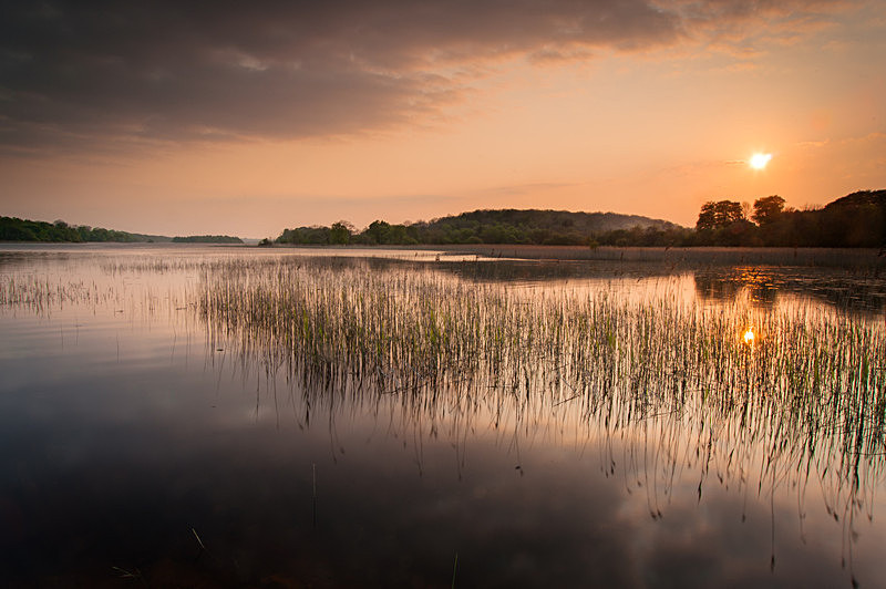 Sunset, Lough Key, Co Roscommon - Connaught's Wild Landscape