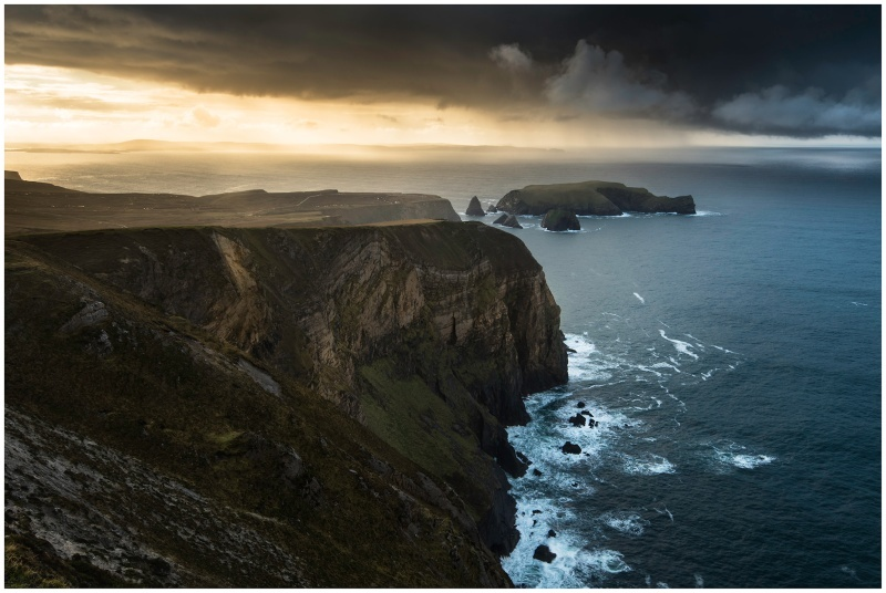 Benwee Head, Co Mayo - Connaught's Wild Landscape