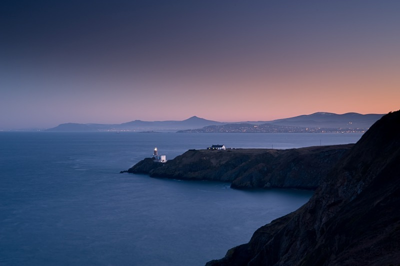 Sunset over The Bailey, Howth, Co Dublin - Dublin's Wild Landscape