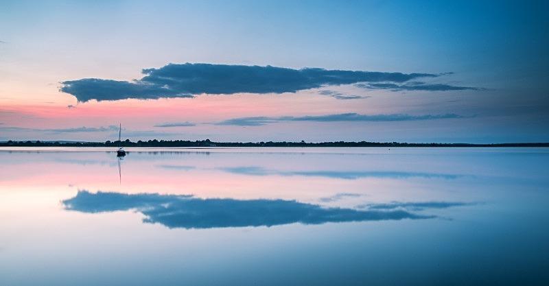 Late Evening at Broadmeadow Estuary, Co Dublin - Dublin's Wild Landscape