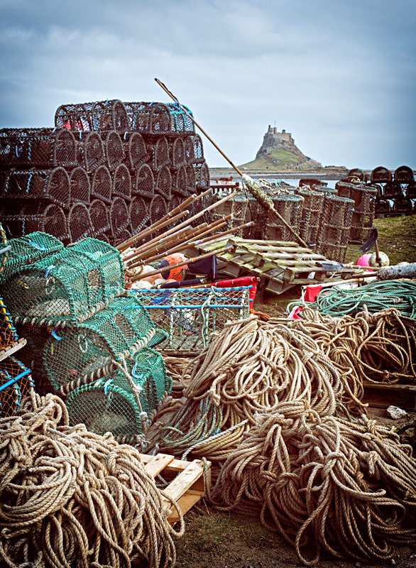 Fishing tackle at Lindisfarne Photography Workshop