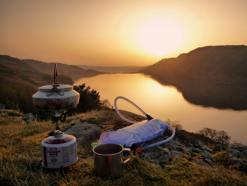 Sunrise above haweswater photography in the Lake District