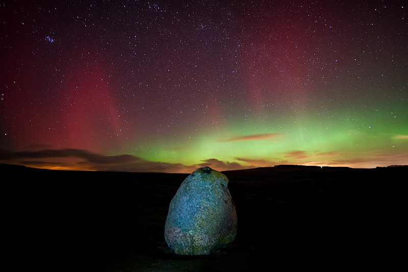 Lake District photography courses, workshops and  tours Askham Aurora - II