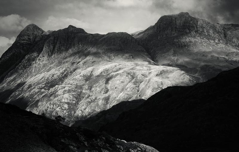 Langdales in the Lake District.