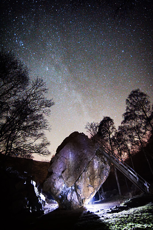 Lake District photography courses, workshops and  tours The Bowder Stone