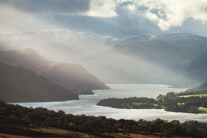 winter delight, Ullswater - Lake District