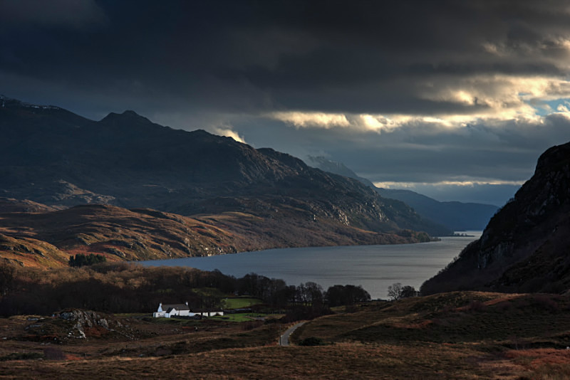Tollie farm loch maree photography tour of Scotland