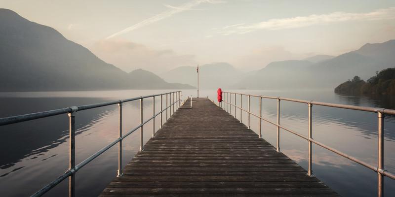 Dawn, Aira Point, Ullswater - Lake District