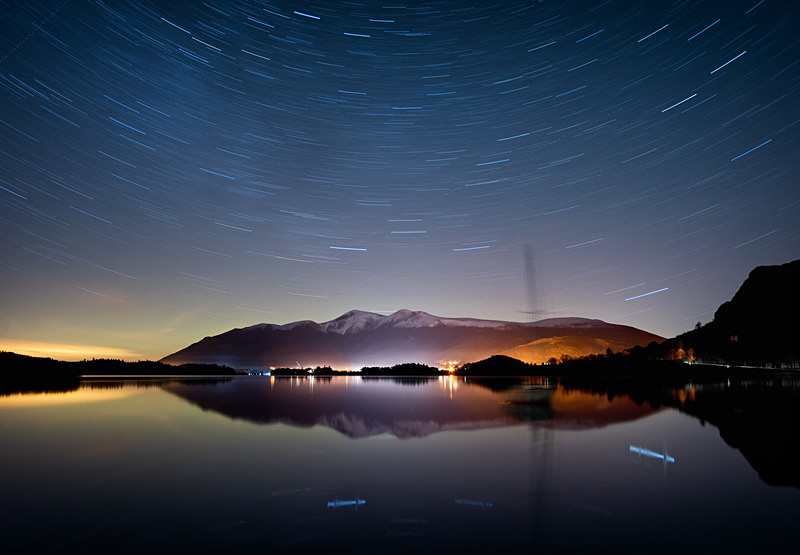 Lake District photography courses, workshops and  tours Revolving - Derwentwater