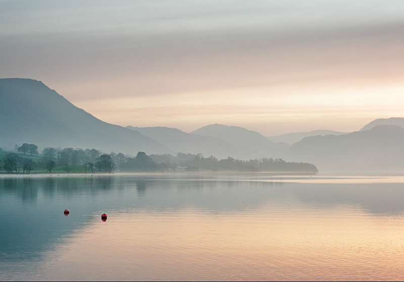 Serenity on Ullswater during Lake District  photography workshops