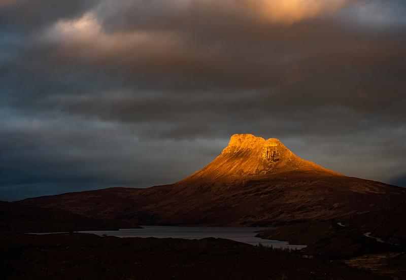 'Monument' (landscape version) - Stac Pollaidh - Other Locations