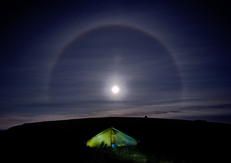 Lake District photography workshops, courses and tours   Lunar Halo - High Street